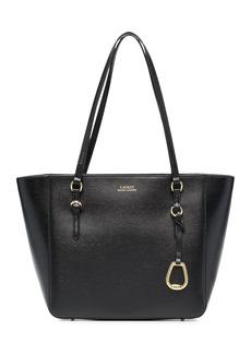 Ralph Lauren textured leather tote bag