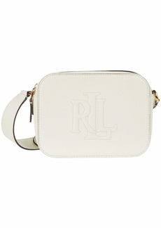 Ralph Lauren Trapunto Logo Classic Pebble Hayes 20 Crossbody Medium
