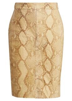 Tristan Python Skirt