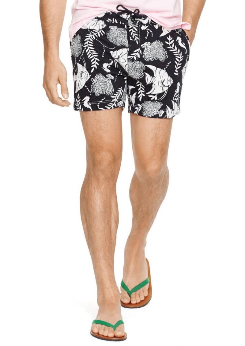 Ralph Lauren Tropical-Fish Fleece Short