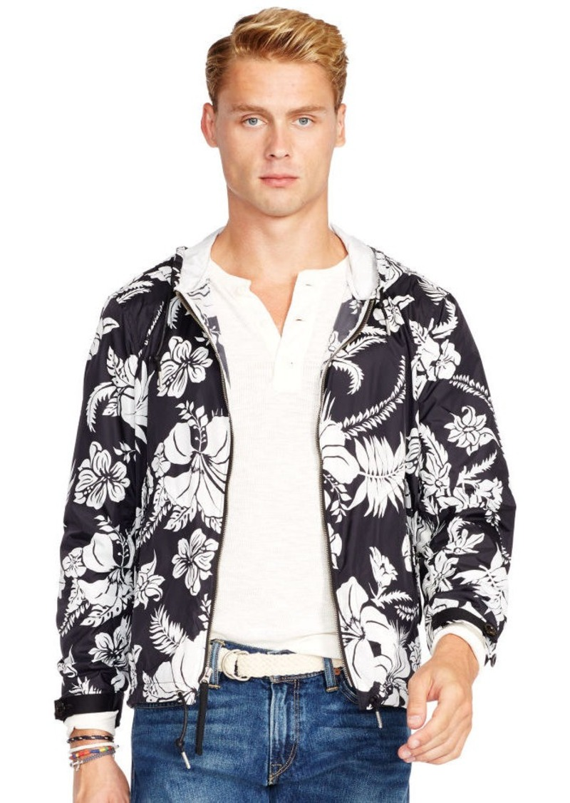 Ralph Lauren Tropical Floral Hooded Jacket