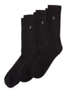 Ralph Lauren Trouser Sock 3-Pack