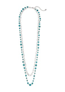 Ralph Lauren Turquoise 2-in-1 Strand Necklace
