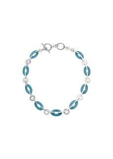 Ralph Lauren Turquoise Link Collar Necklace