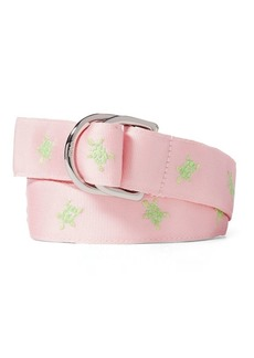 Ralph Lauren Turtle Grosgrain Belt