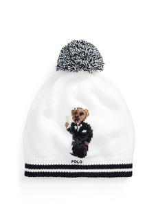 Ralph Lauren Tuxedo Bear Wool-Blend Hat