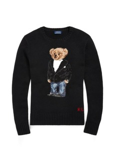 Ralph Lauren Tuxedo Bear Wool Sweater