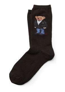 Ralph Lauren Tuxedo Polo Bear Trouser Socks