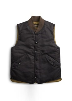 Ralph Lauren Twill Down Vest