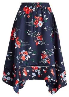 Ralph Lauren Twill Handkerchief Skirt