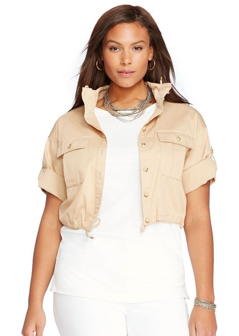 Ralph Lauren Twill Short-Sleeve Jacket