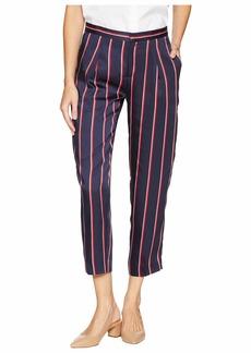 Ralph Lauren Twill Straight-Leg Pants