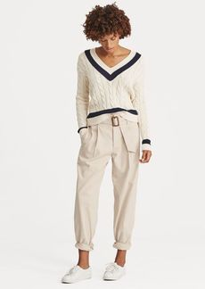 Ralph Lauren Twill Straight Pant