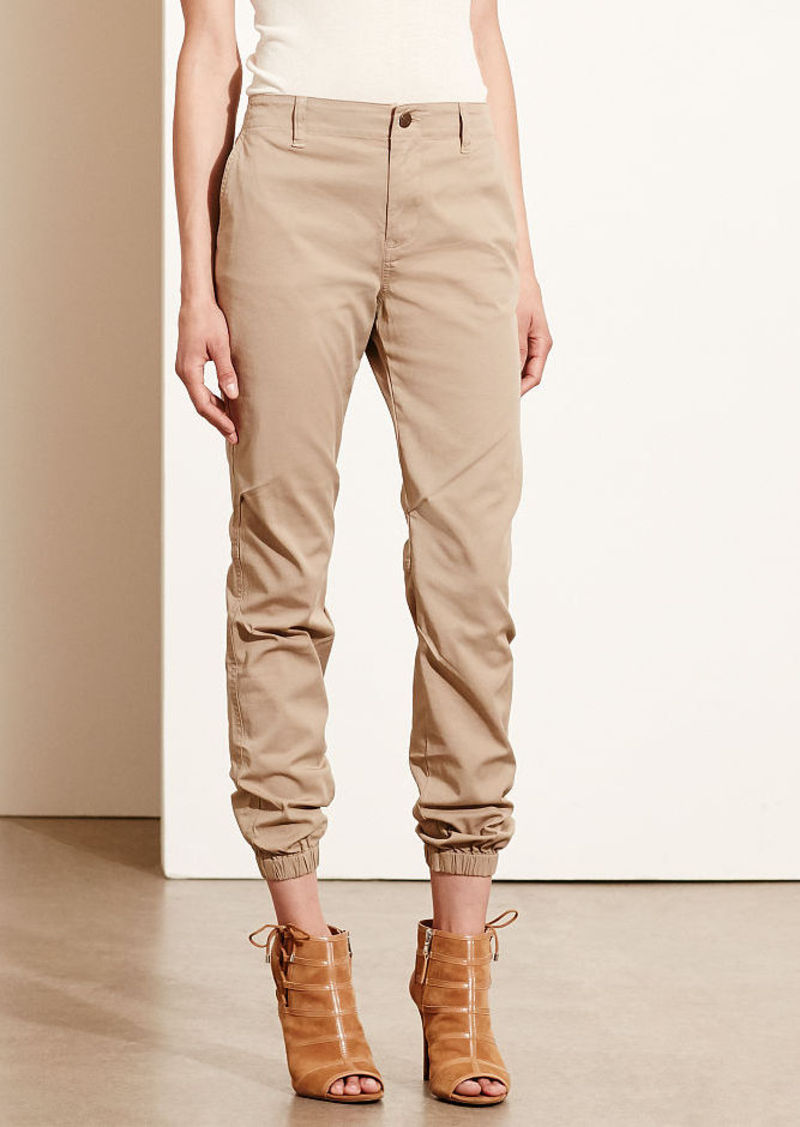 Ralph Lauren Twill Tapered-Leg Pant