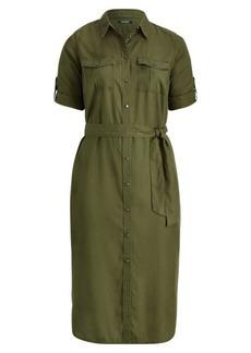 Ralph Lauren Twill Utility Shirtdress