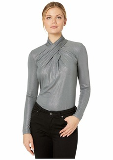 Ralph Lauren Twist-Neck Top
