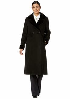Ralph Lauren Two-Button Maxi Wool