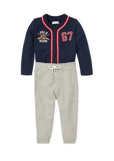 Ralph Lauren Two-Piece Baseball Outfit