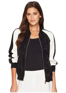 Ralph Lauren Two-Tone Bomber Jacket