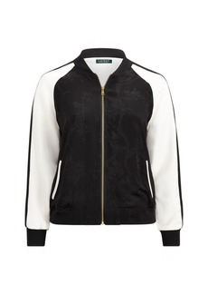 Ralph Lauren Two-Tone Bomber Jacket