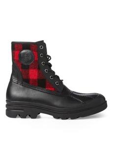 Ralph Lauren Udel Buffalo Check Duck Boot