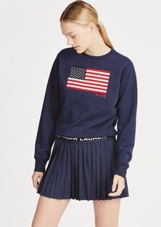 Ralph Lauren US Open Flag Fleece Pullover