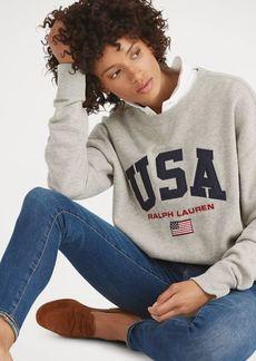 Ralph Lauren USA Fleece Sweatshirt