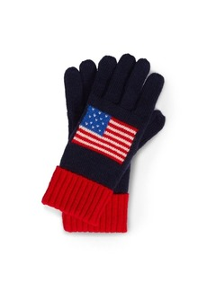 Ralph Lauren USA Knit Gloves