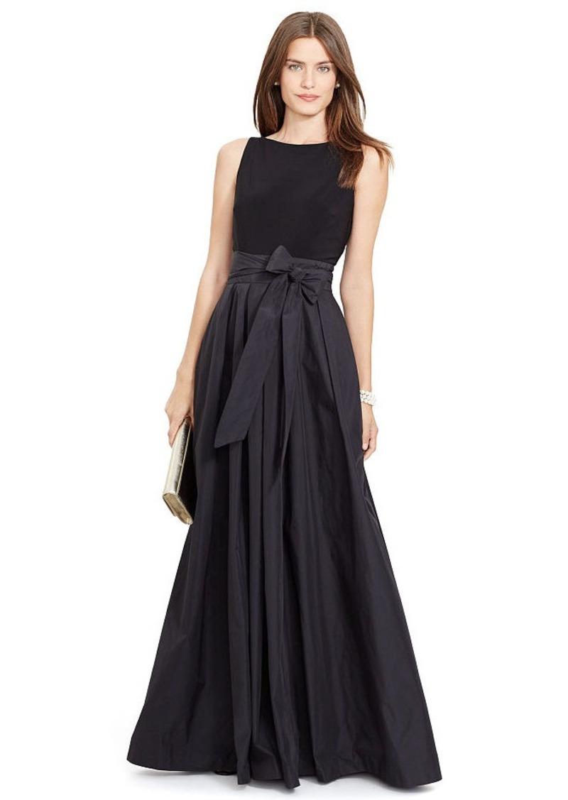 Ralph Lauren V-Back Gown