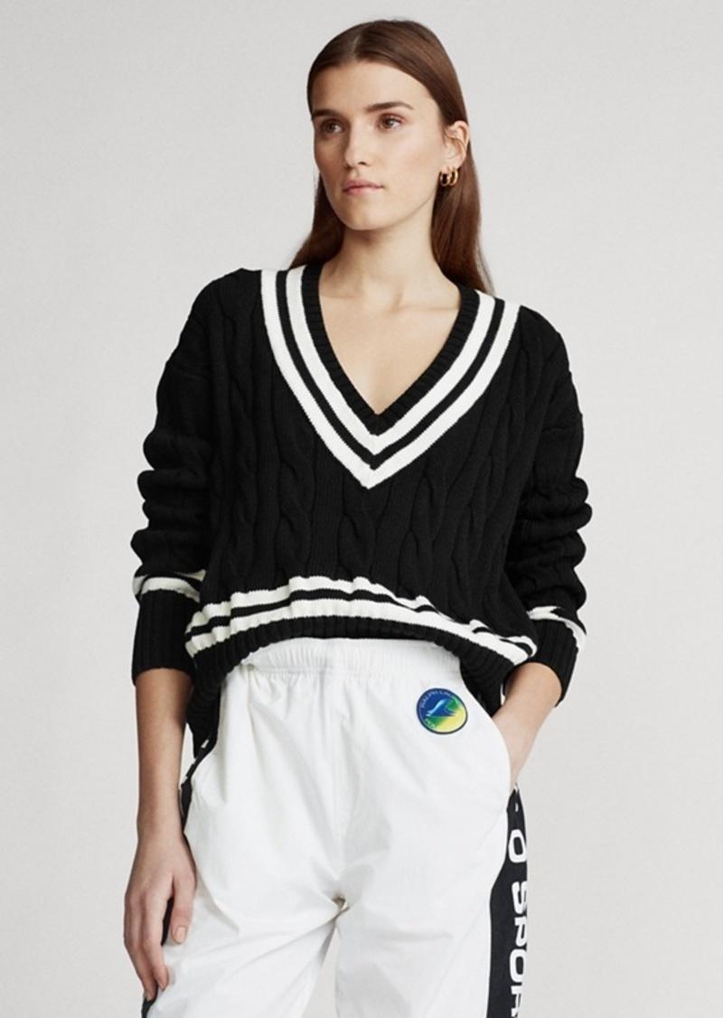 Ralph Lauren V-Neck Cricket Sweater