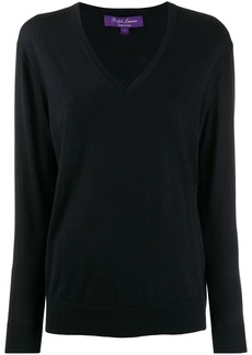 Ralph Lauren V-neck knitted top