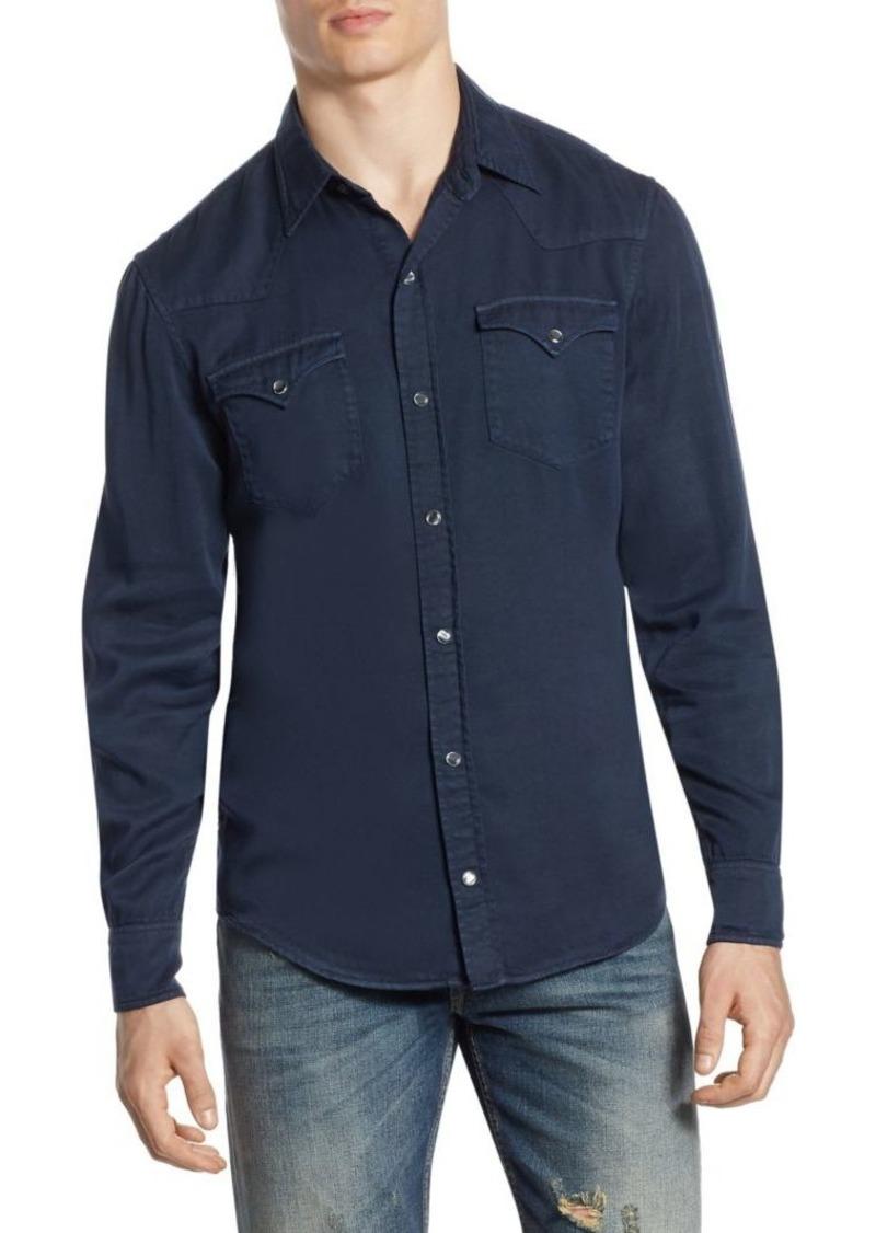 Ralph Lauren Vail Western Casual Button-Down Shirt