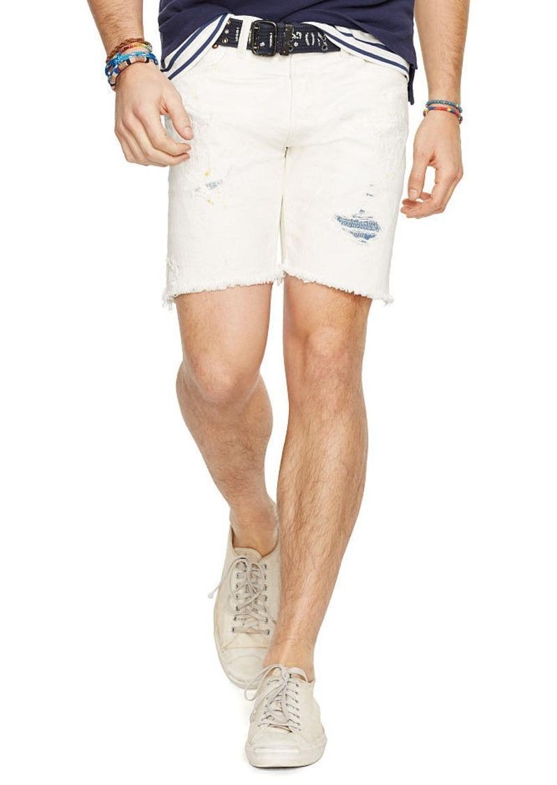 Ralph Lauren Varick Slim Straight Short