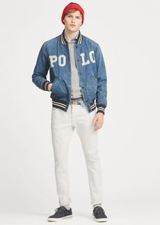 Ralph Lauren Varsity-Inspired Denim Jacket