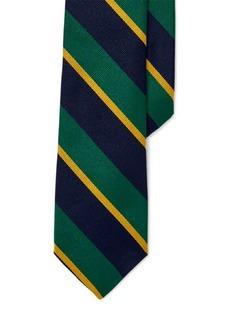 Ralph Lauren Varsity Striped Silk Repp Tie