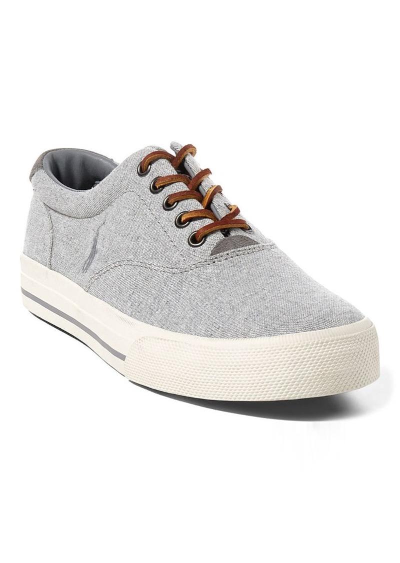 aa945a416f Vaughn Linen-Cotton Sneaker