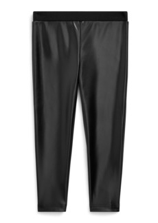 Ralph Lauren Vegan-Leather Legging