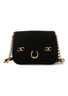 Ralph Lauren Velvet Crossbody Bag