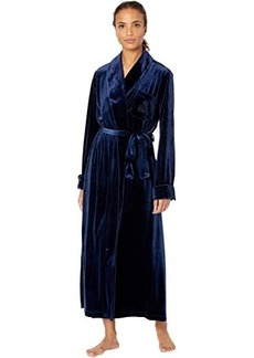 Ralph Lauren Velvet Long Shawl Collar Robe