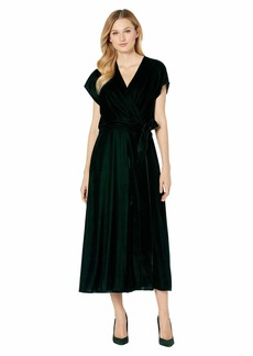 Ralph Lauren Velvet Wrap Dress