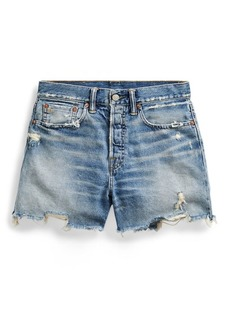 Ralph Lauren Vintage Straight Cutoff Short