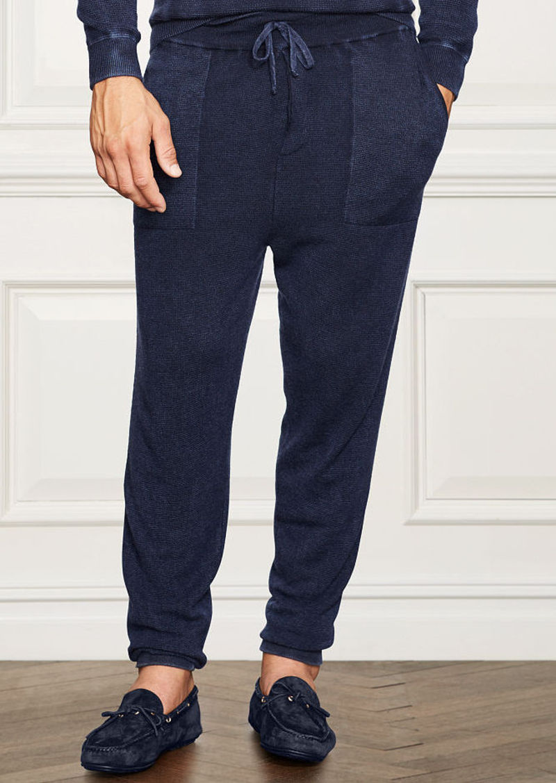 Ralph Lauren aFeoOverrideAttrRead('img', 'src')Waffle-Knit Cashmere Pant