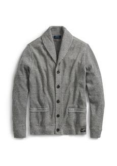 Ralph Lauren Waffle-Knit Cotton Cardigan