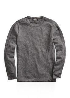 Ralph Lauren Waffle-Knit Cotton Crewneck