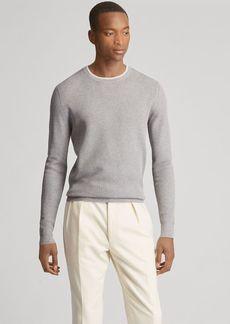 Ralph Lauren Waffle-Knit Cotton Sweater