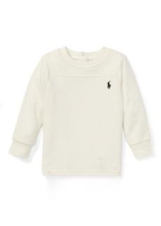 Ralph Lauren Waffle-Knit Crewneck T-Shirt
