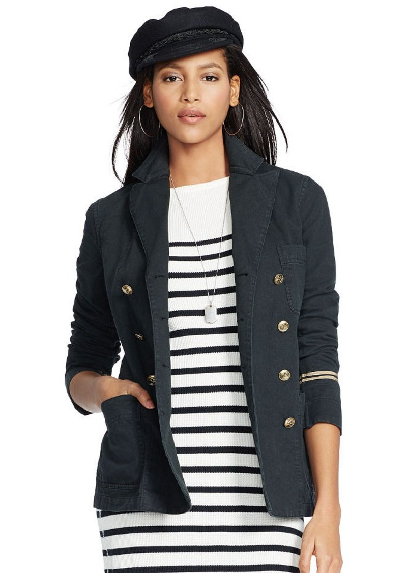 Ralph Lauren Washed Twill Naval Jacket
