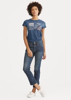 Ralph Lauren Waverly High-Rise Crop Jean