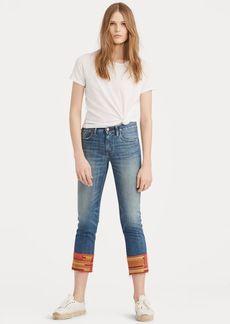 Ralph Lauren Waverly Straight Crop Jean