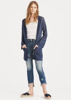 Ralph Lauren Waverly Straight Crop Jean